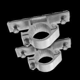 Bordbeugel  standaard (set 2 stuks) �48mm bordbeugel �48, flespaal, scharnierbeugel