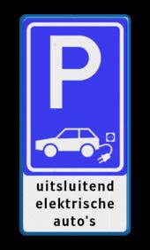 Kies je eigen E-parkeerbord