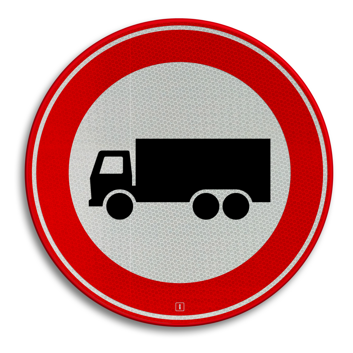Verkeersbord C07 - Gesloten voor vrachtauto's ...